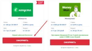 Взять займ с переводом на банковскую карту